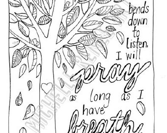 Zentangle inspired bible verse memory coloring page john for Pray without ceasing coloring page