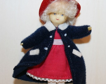 Vintage Doll -Lovely Erna Meyer Little Girl- Dollhouse doll- made in Germany -Miniatures