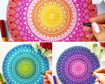 Colourful Mandala Collection