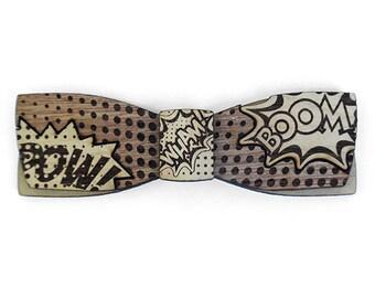 B.L. BobKane M.Sc., Wooden Bow Tie