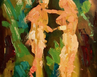 No Shame Adam And Eve Poster / Print Jesus God Holy Spirit Angels Anthony Falbo
