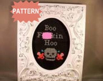 PDF/JPEG Boo F-ckin Hoo (Pattern)