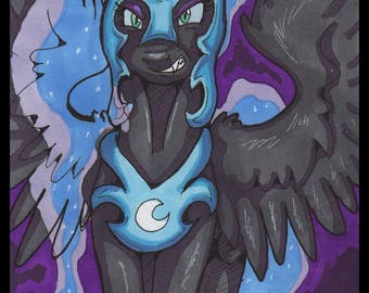 Nightmare Moon ACEO Original