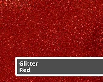 """Red Glitter HTV, Burgundy Glitter Heat Transfer Vinyl Sheets, Siser Glitter HTV, Glitter Heat Transfer Vinyl, 12"""" x 20"""" sheets,"""