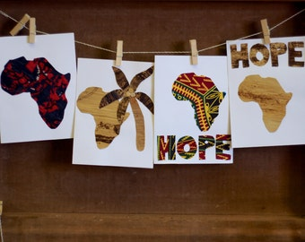Africa Hope greeting cards