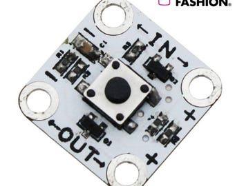 Electro-Fashion, Latching Switch Sewable electronics sewable switch e textiles e-textiles