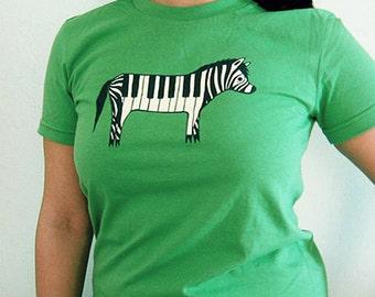 pianist gift - Music TSHIRT, keyboard t shirts, graphic tees for women, graphic music tee, piano graphic shirt, music t shirts, zebra piano