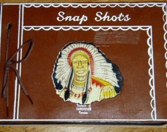 vintage album ...  SNAPSHOTS SOUVENIR Album ...