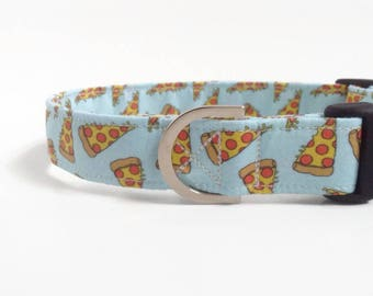Pizza Dog Collar | Puppy Collar | Boy Dog Collar | Large Dog Collar | Male Dog Collar | Small Dog Collar | Fun Dog Collar | Pizza collar