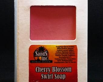 Cherry Blossom Swirl Soap