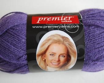 1 skein Premier yarn Deborah Norville