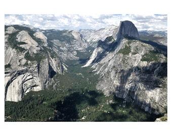 Yosemite National Park,  California, Sierra Nevada Mountains, Skyline, Nature, Forests, United States