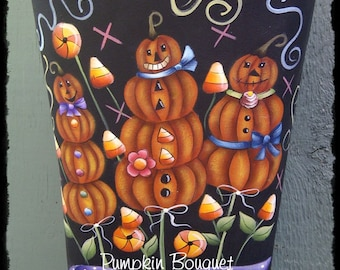 Pumpkin Bouquet, Deb Antonick, email pattern packet