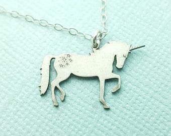 Fairytale Gift - Unicorn Charm Necklace