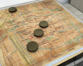 Map with RFID