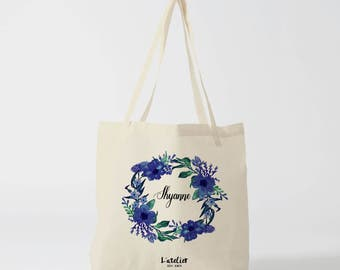 W6Y Tote bag custom wedding, Bridesmaid bags, Wedding Bags, Bridal Pary Gifts, Personalized Handbags, Bridesmaid Gifts,  by atelier des amis