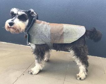 Tweed Winter Dog Coat