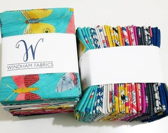 IN STOCK Carrie Bloomston WONDER 28 Fat Quarter cotton quilting fabric bundle