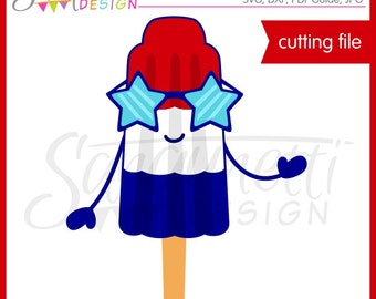 Popsicle SVG, 4th of July SVG, Summer SVG, Dxf, Cutting Files, svg Files for Cutting Machines