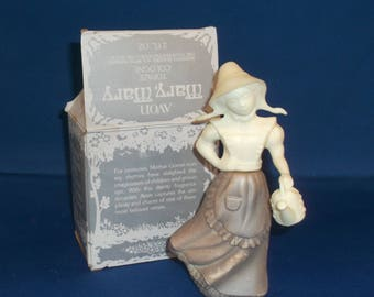 Vintage Avon Mary Mary Cologne Decanter with Box, Vintage Decanter, 1970's