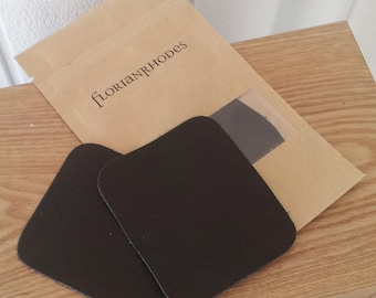 Leather Elbow Patch - Square