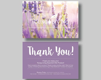 Young Living Essential Oils Note Card (Dreaming) - Digital Design
