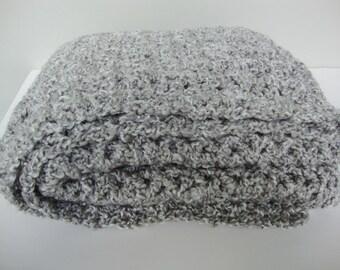 Crochet Shawl, Crocheted Shawls, Gray Shawl, Shawl Crochet, Shawl, Grandma Gift, Evening Shawls Wraps, Crochet Shawls, Silver Gray Shawl