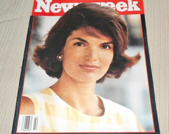 May 1994 Issue of Newsweek Magazine Jacqueline Kennedy Onassis on Cover