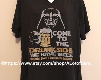 Come to the Drunk Side - Darth Vadar