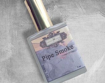 Pipe Smoke Cologne for Men - 2oz Spray Cologne, Roll-On or Body Mist for Men
