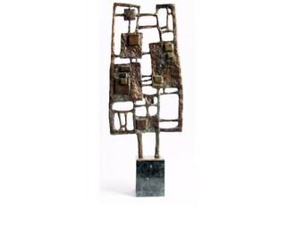 MEMORY OF P.M. - Unique Bronze Sculpture