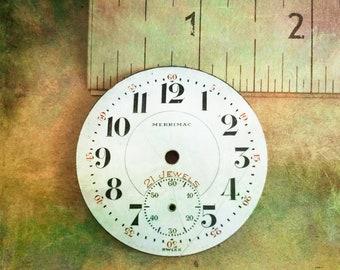 14. Vintage Merrimac Watch Company  Face