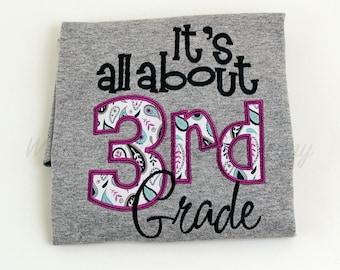 It's all about 3rd Third Grade Teachers Shirt