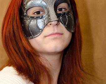 Gladiator latex warrior Mask for LARP, Costume, medieval fair and cosplay