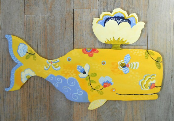 Provence whales wood wall sculptures by Kimberly Hodges, multiple pattern whales, sperm whales, wood wall art, wall decor, beach decor