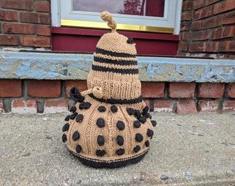 Doctor Who Dalek Plushie // Hand Knit //