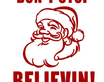 Don't Stop Believin - svg file