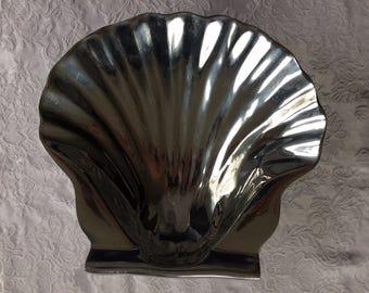 Silver Seashell Bowl