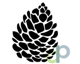 Pinecone-SVG file