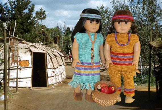 Native American Girls Crochet Pattern