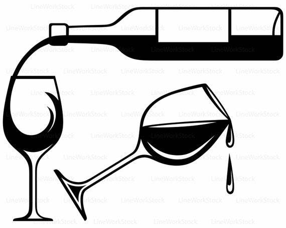 wine bottle svg drink clipart alcohol svg wine rh etsy com wine bottle clip art images wine bottle clipart no background