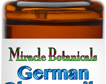 Miracle Botanicals German (Blue) Chamomile Essential Oil - 10% Pure Matricaria Chamomilla in Argan 15ml