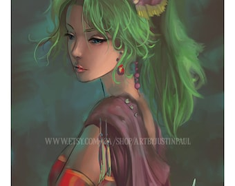 Terra - Final Fantasy VI (Portrait)