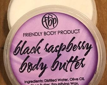 Body Butter - Black Raspberry - Lotion