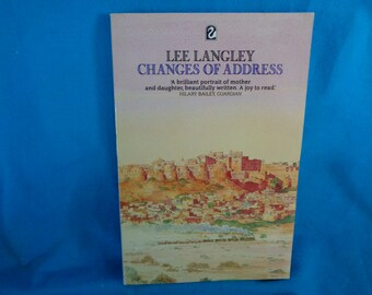 vintage 1988 Changes of Address book by Lee Langley