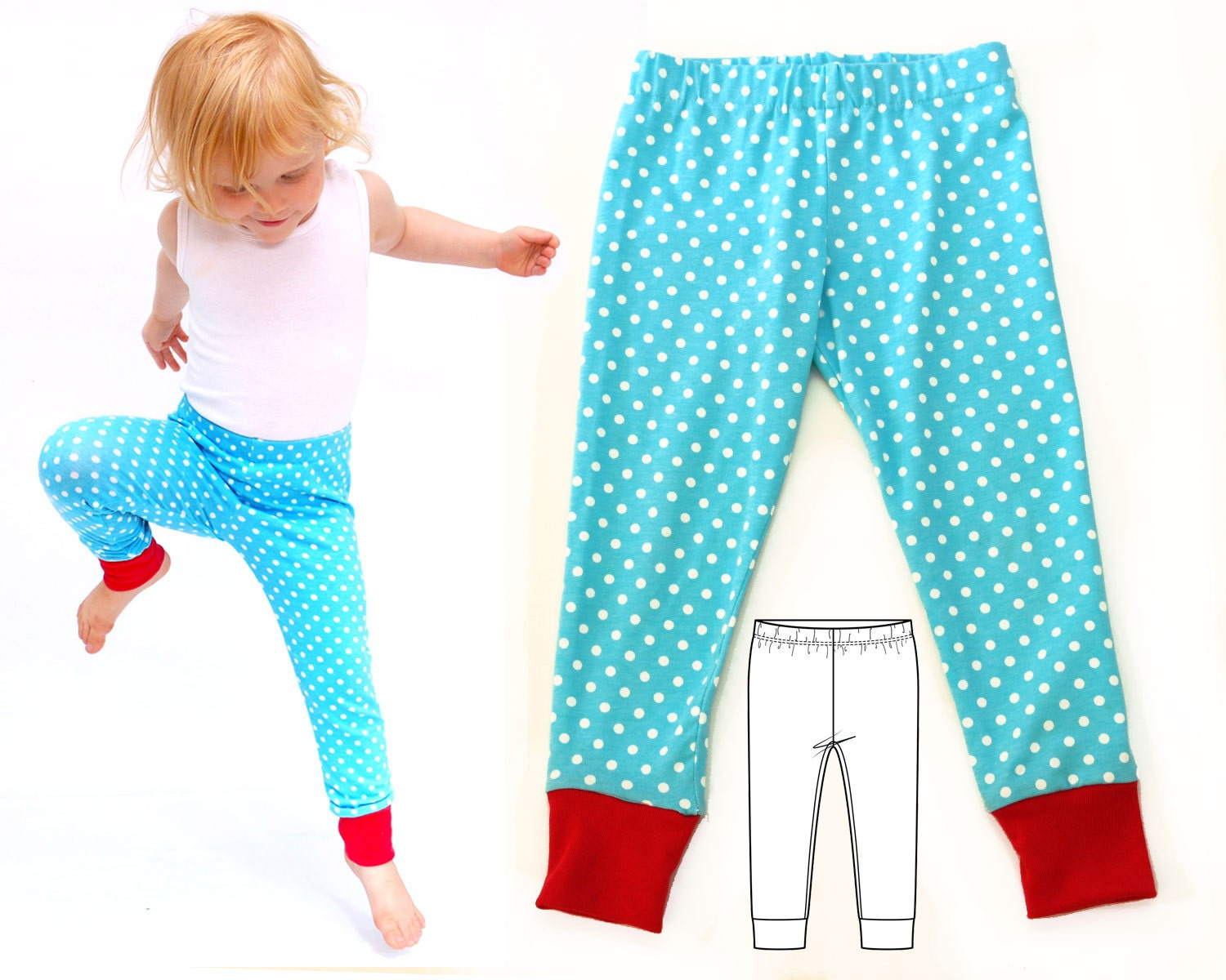 Baby leggings pattern baby sewing pattern baby pants pattern this is a digital file jeuxipadfo Image collections