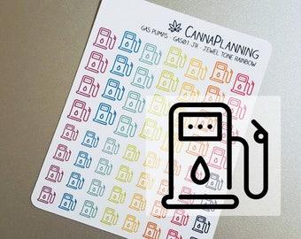 Gas Pump stickers