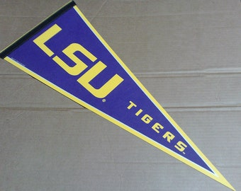 LSU Tigers Pennant - Full Size