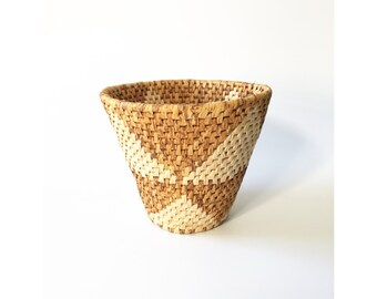 Vintage Southwestern Woven Basket