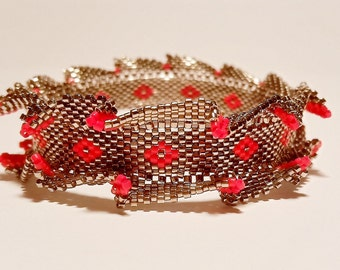 Field of Poppies Bangle Tutorial